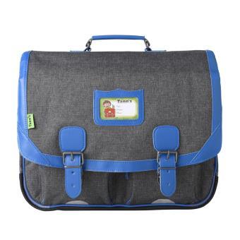 cartable tann 39 s classic gris chin et bleu 41 cm cartable sac dos primaire achat prix. Black Bedroom Furniture Sets. Home Design Ideas
