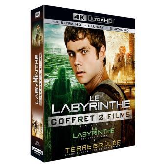 L'épreuveCoffret Le Labyrinthe Blu-ray 4K Ultra HD