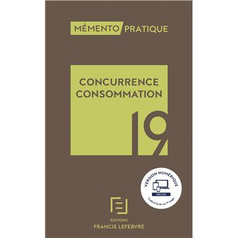 Memento concurrence consommation 2019