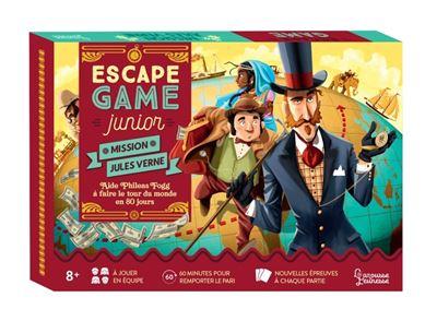 Escape Game Junior - Aide Phileas Fogg à faire le tour du monde en 80 jours