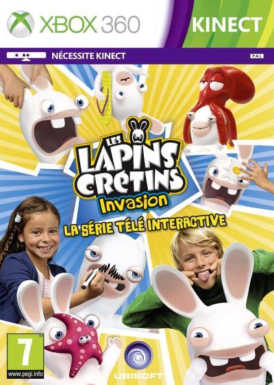 Les Lapins Crétins Invasion : La Série Télé Interactive Xbox 360 - Xbox 360