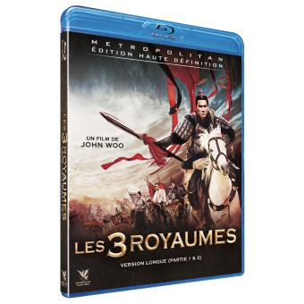 Les 3 Royaumes Parties 1 et 2 Blu-ray