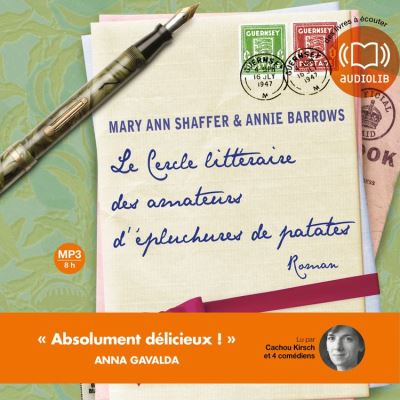 Le Cercle littéraire des amateurs d'épluchures de patates - Format Téléchargement Audio - 9782356411839 - 18,45 €