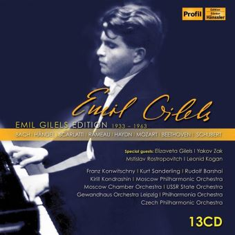 EMIL GILELS ED 1933-1963/13CD