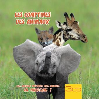 COMPTINES DES ANIMAUX/3CD