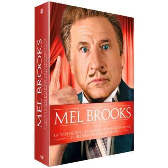 Mel Brooks  La Folle histoire du monde, Frankenstein Junior, La dernière folie de Mel Brooks Coffret DVD