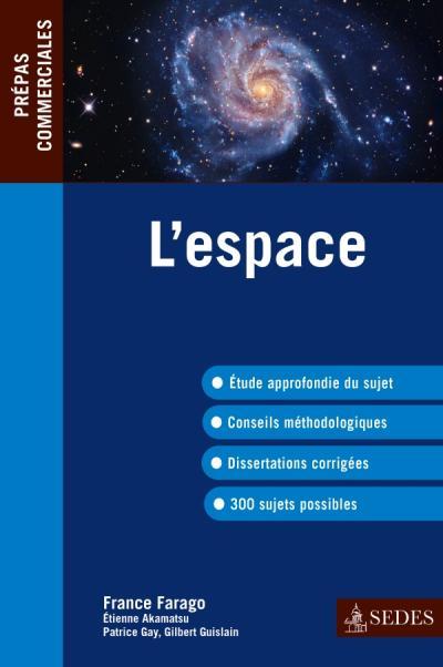 L'espace - Prépas commerciales 2013-2014