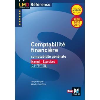 Comptabilité financière, Millésime 2018-2019