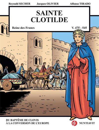 Sainte Clotilde, reine des Francs