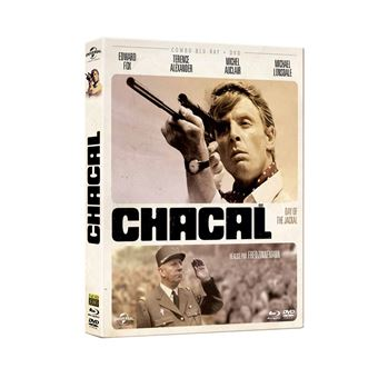 Chacal Combo Blu-ray DVD