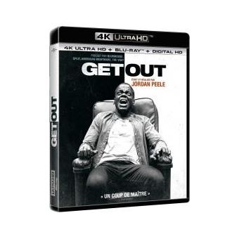 Get out Blu-ray 4K Ultra HD
