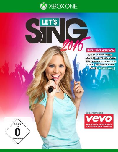 Let's Sing 2016 Version Internationale Xbox One