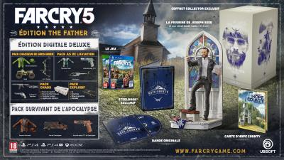 Far Cry 5 Edition Collector The Father Xbox One