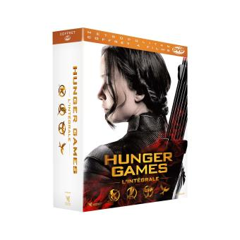 Hunger GamesHunger Games l'intégrale Coffret Edition Collector DVD