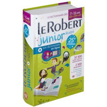 Le Robert Junior Illustré + son dictionnaire en ligne + clé