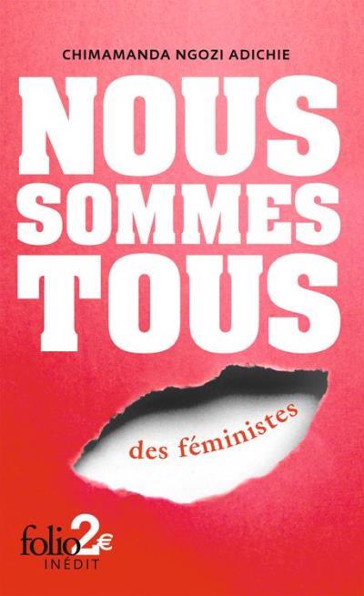Nous sommes tous des féministes - 9782072591020 - 1,99 €