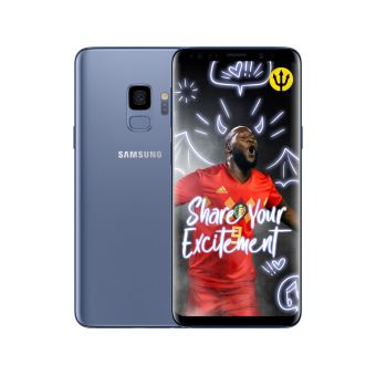 Samsung galaxy S9 BLUE + Red devils smart cover
