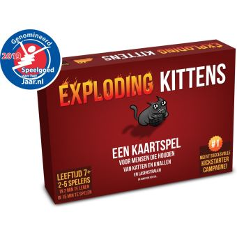 Exploding Kittens -  Basisspel