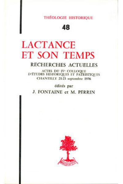 Lactance et son temps