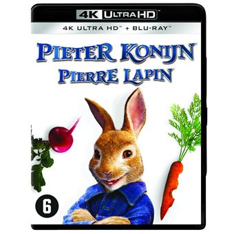 PETER RABBIT-BIL-BLURAY 4K