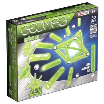 Jeu de construction Giochi Preziosi Geomag Glow 30 pièces