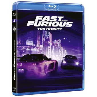 Fast And FuriousFast and Furious 3 Blu-ray
