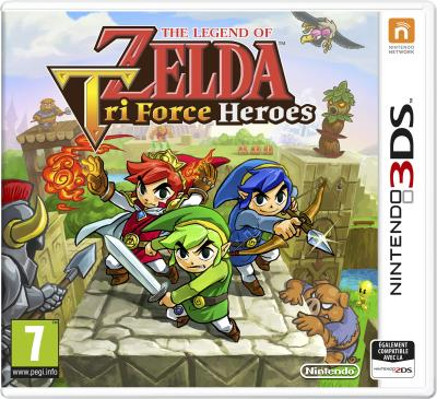 The Legend of Zelda Triforce Heroes 3DS - Nintendo 3DS