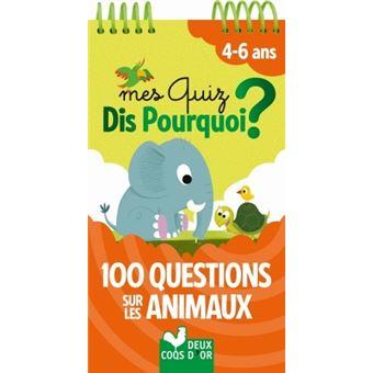 100 questions sur les animaux