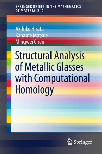 Structural analysis of metallic glasses with computational homology