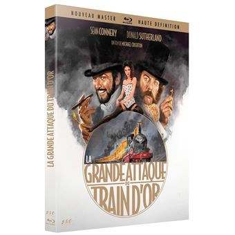 La grande attaque du train d'or Blu-ray