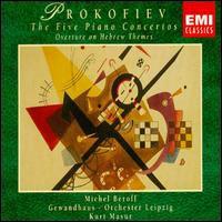 Concertos pour piano N°1 à N°5 - Ouverture sur thèmes juifs