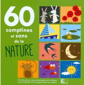 60 comptines et sons de la nature