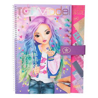 Album A Colorier Top Model Special Design Book Crayon De Couleur Achat Prix Fnac