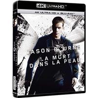 Bourne La Mort dans la peau Blu-ray 4K Ultra HD