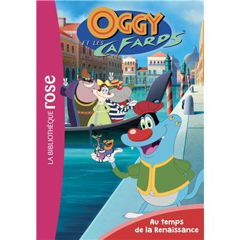 Coloriage Gratuit Oscar Et Malika.Oggy Et Les Cafards Tome 4 Au Temps De La Renaissance