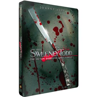 Sweeney Todd Le diabolique barbier de Fleet Street Steelbook Blu-ray