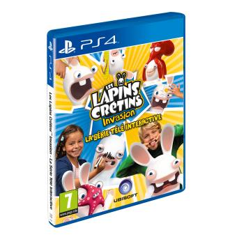 les lapins cr tins invasion la s rie t l interactive ps4 jeux vid o achat prix fnac. Black Bedroom Furniture Sets. Home Design Ideas
