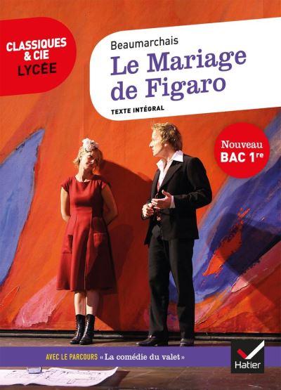 Le Mariage de Figaro - suivi du parcours « La comédie du valet » - 9782401059870 - 2,49 €