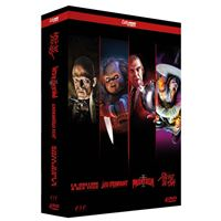 Coffret Cult Horror 4 films DVD