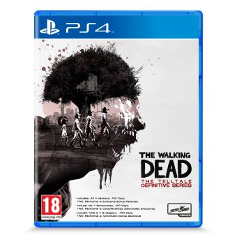 THE WALKING DEAD TELLTALE DEFINITIVE FR/NL PS4