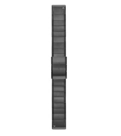 Bracelet Garmin QuickFit Acier inoxydable gris 22 mm