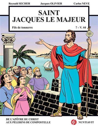 Saint-Jacques le majeur, fils du tonnerre