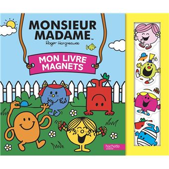 Monsieur MadameMon livre magnets