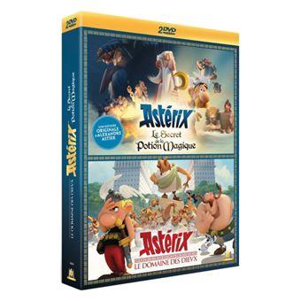 AstérixCoffret Astérix : Le Domaine des Dieux et Le Secret de la Potion Magique DVD