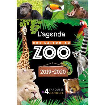 Une saison au ZooAgenda scolaire 2019-2020