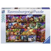 Puzzle 2000 Pièces Le monde des livres Ravensburger