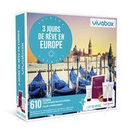 VIVABOX FR 3 JOURS DE RÊVE EN EUROPE