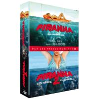 Coffret Piranha 3D et Piranha 3D 2 Edition Limitée DVD