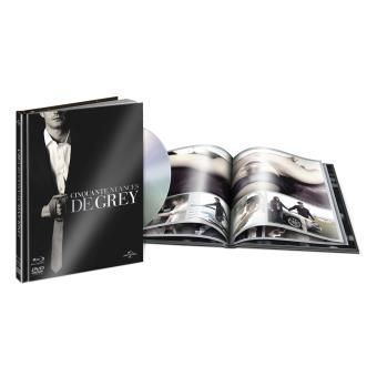 Fifty ShadesCinquante Nuances De Grey Digibook Blu Ray DVD