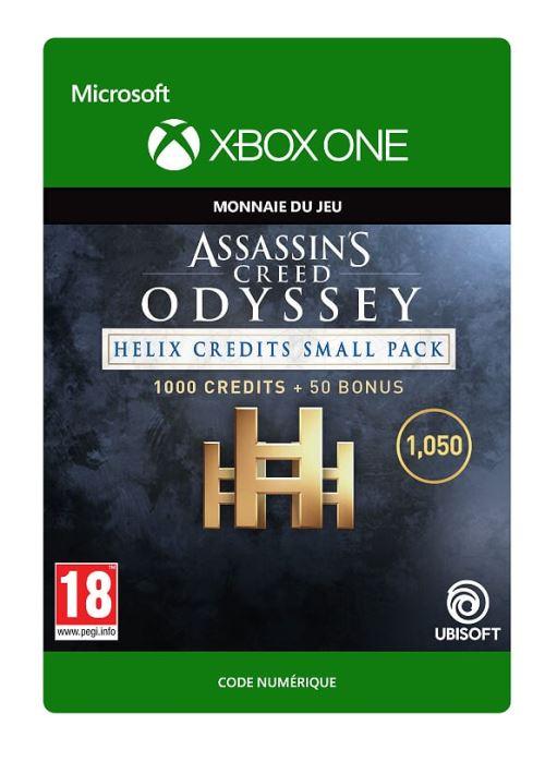 Code de téléchargement Assassin's Creed Odyssey Petit Pack de Crédits Helix Xbox One